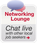 Chat Live With Other Job Seekers in Our Networking Lounge